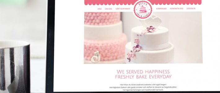 Etty's Cake & Cookies Website Design