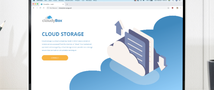 CloudyBox – Cloud Storage using Dropbox API